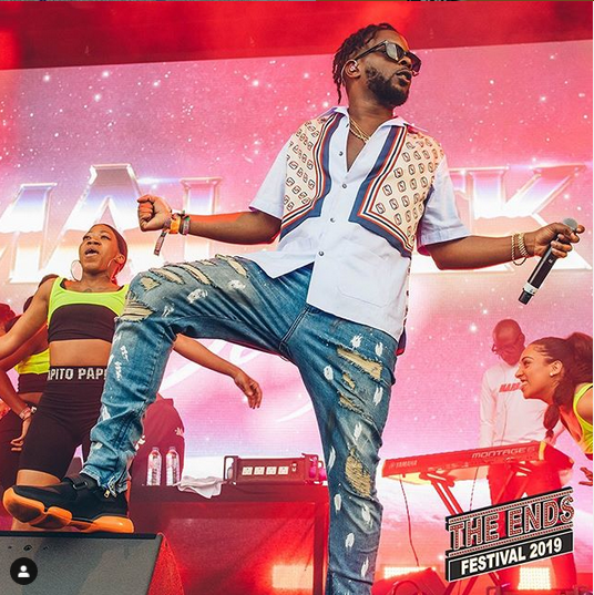 maeek - Wizkid, Maleek Berry, Wande Coal And Burna Boy Performs At End Festival 2019