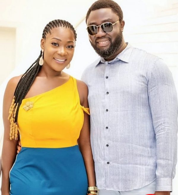 mercy johnson and husband 600x657 - Mercy Johnson Reveals How She Puts Marriage And Work Together (VIDEO)