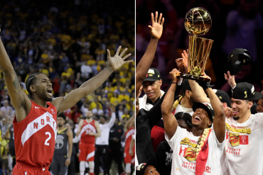 Toronto Raptor Wins Their First Ever NBA Championship Title