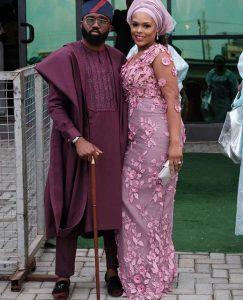 """noble igwe 243x300 - """"I'm proudly Igbo""""- Noble Igwe Shares Lovely Photo With Wife, Chioma"""