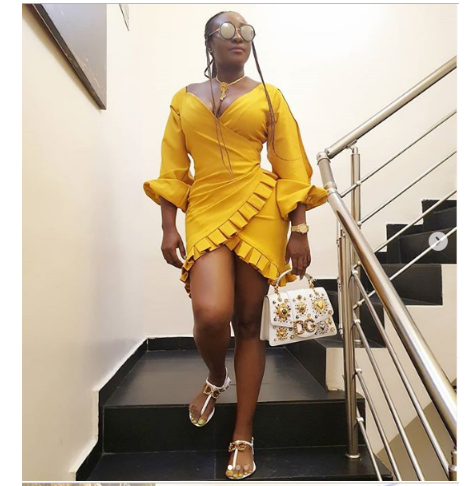 o - [Photos]: Ini Edo puts on a busty display as she sizzles in new photos