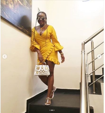 p - [Photos]: Ini Edo puts on a busty display as she sizzles in new photos