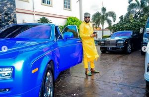 photo 2 300x196 - [PHOTOS]: Five Star Music Boss, E-Money Poses With His Luxurious Cars