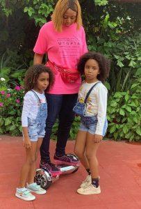 reg 1 203x300 - Regina Daniels Takes Photos With Ned Nwoko's Children