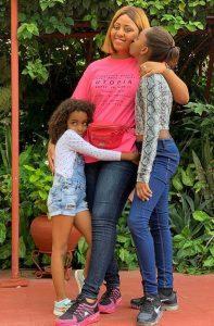reg 2 197x300 - Regina Daniels Takes Photos With Ned Nwoko's Children
