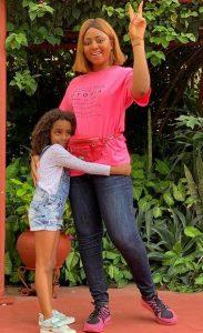 reg 3 183x300 - Regina Daniels Takes Photos With Ned Nwoko's Children