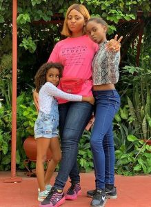 reg 4 219x300 - Regina Daniels Takes Photos With Ned Nwoko's Children