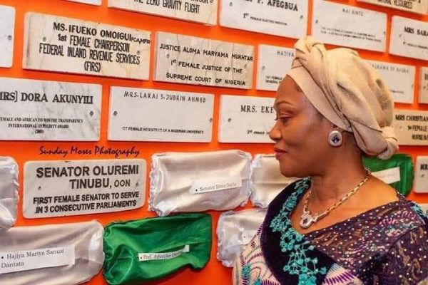 See Why Oluremi Tinubu Was Inducted Into Women Hall Of Fame