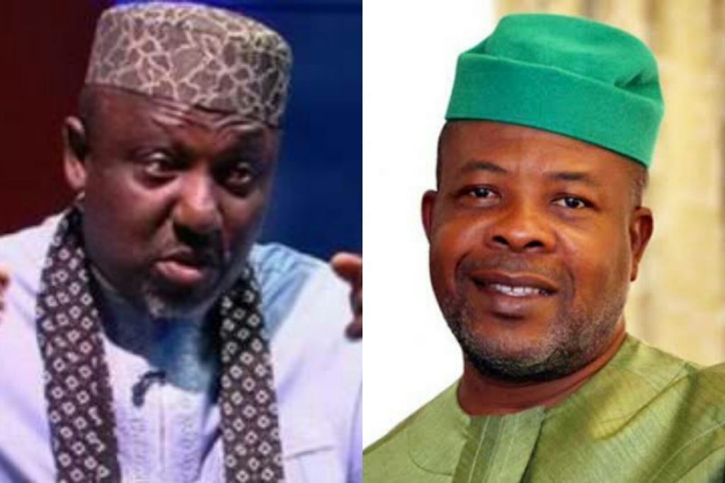 "Ihedioha Never Won The Election That Brought Him To Power, All These Allegations Are To Poison The Mind Of Imo People Against Impeding Rerun"" - Okrocha Replies Ihedioha"