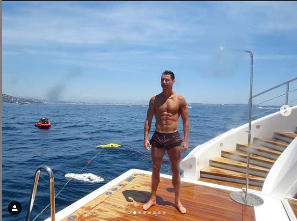 ronaldo 2 - [PHOTOS]: Check Out How Cristiano Ronaldo Is Having A Romantic Getaway With His Girlfriend