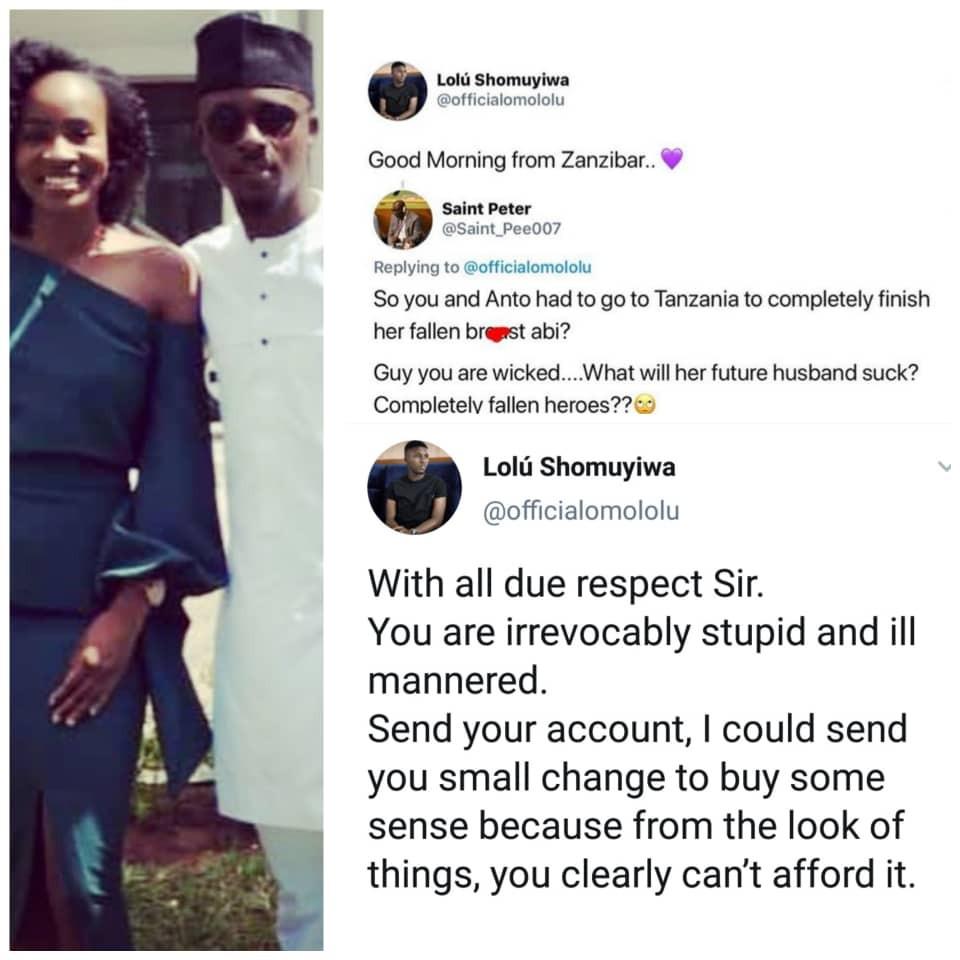 save - Check Out Ex-BBNaija Housemate, Lolu Savage Reply To A Troll