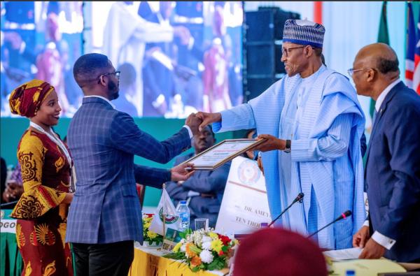 st 600x395 - ECOWAS Chairman, Muhammadu Buhari Honors Late Nigerian Ebola Heroine, Dr. Stella