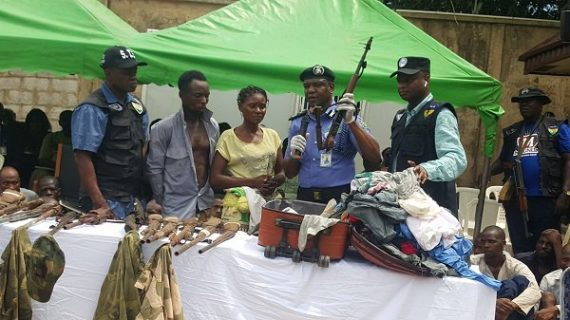 Must Read: Confessional Statement Of A Nursing Mother Caught With AK47 Rifles
