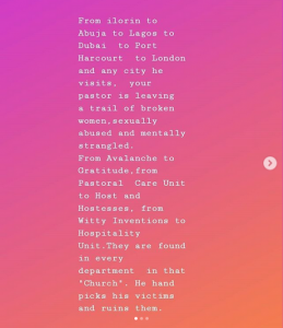 """timi 1 259x300 - Ese Walter Reacts To Trending """"COZA pastor's"""" Sexual Abuse Allegations"""
