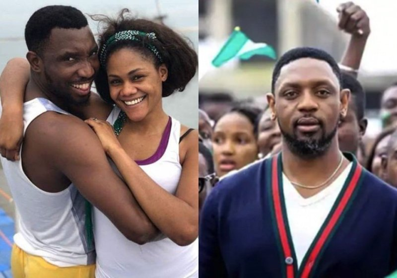 timi dakolo reacts over wifes confession that she was raped by coza pastor - We are sorry, we can not interfere in the matter between Fatoyinbo and Busola Dakolo- CAN