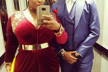 Curvy OAP, Toolz Shares Vacation Photos With Her Husband And Son