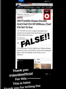 ub3 222x300 - Ubi Franklin Reacts To News That Both Davido And Chioma Are Set To Sue Him