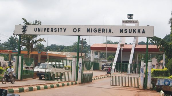 university of nigeria nsukka unn 600x337 - [TRAGIC]: Graduation Frustration Drives Final Year Student of UNN To Commit Suicide By Drinking Sniper
