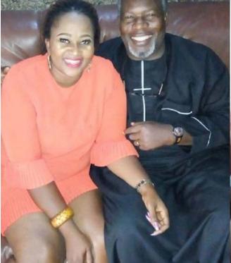Love In The Air: Actor Ejike Asiegbu Spotted Losing His Wife's Hair