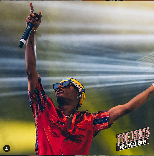 wix - Wizkid, Maleek Berry, Wande Coal And Burna Boy Performs At End Festival 2019