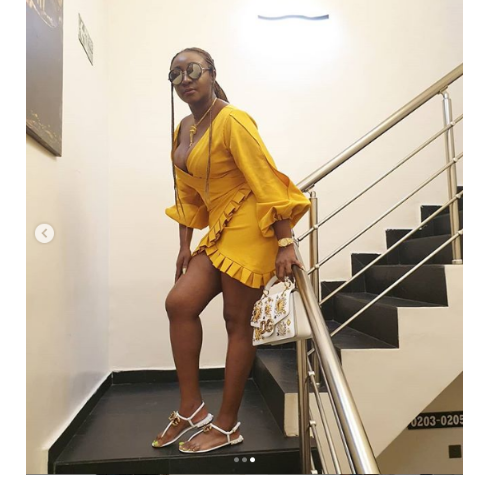 x 1 - [Photos]: Ini Edo puts on a busty display as she sizzles in new photos