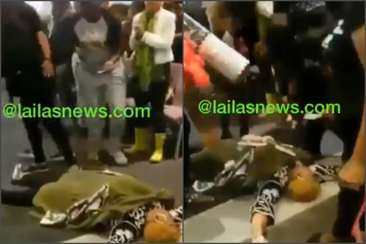 x 2 - [Video]: Pastor pretends to be dead until church members raised a particular sum