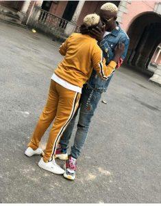 zlatan and seyi 235x300 - [PHOTO]: Zlatan Ibile's Girlfriend, Seyi Awonuga Shares First Photo Of Their Child