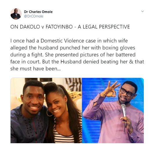 'Fatoyinbo Will Not Be Convicted, Busola Has No Evidence' - Judge Charles Omole Predicts