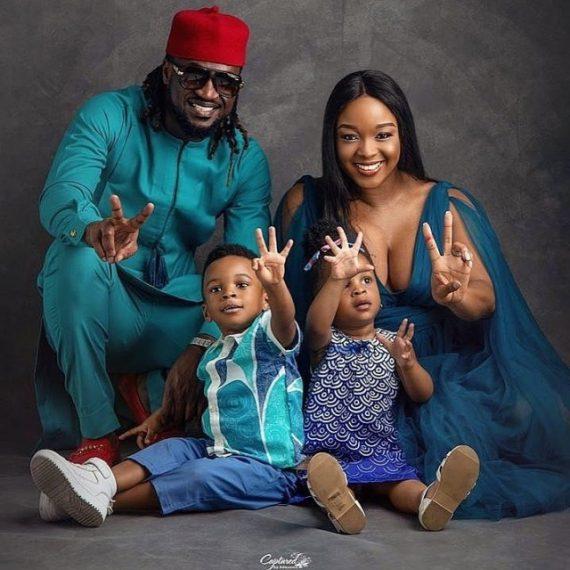 Paul Okoye and his family