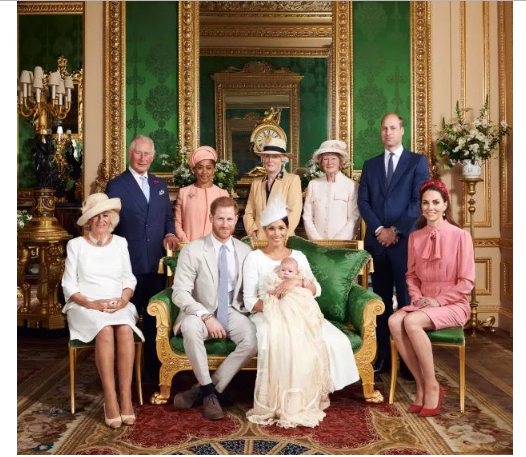 Photos from Meghan Markle And Prince Harry's Child Christening
