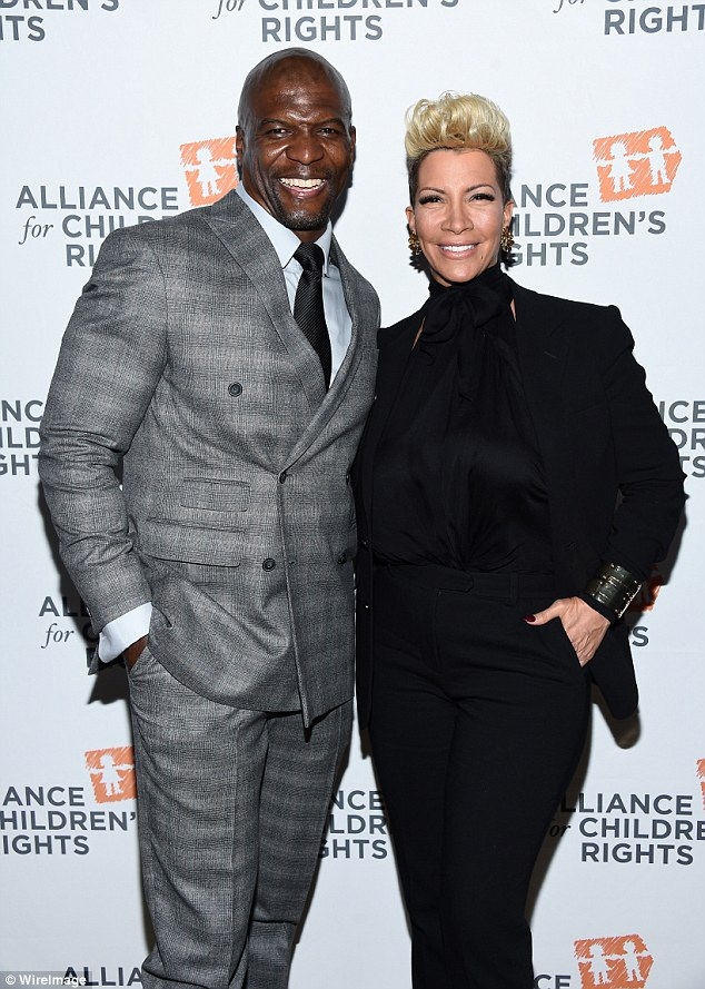 Terry Crews and his wife, Rebecca
