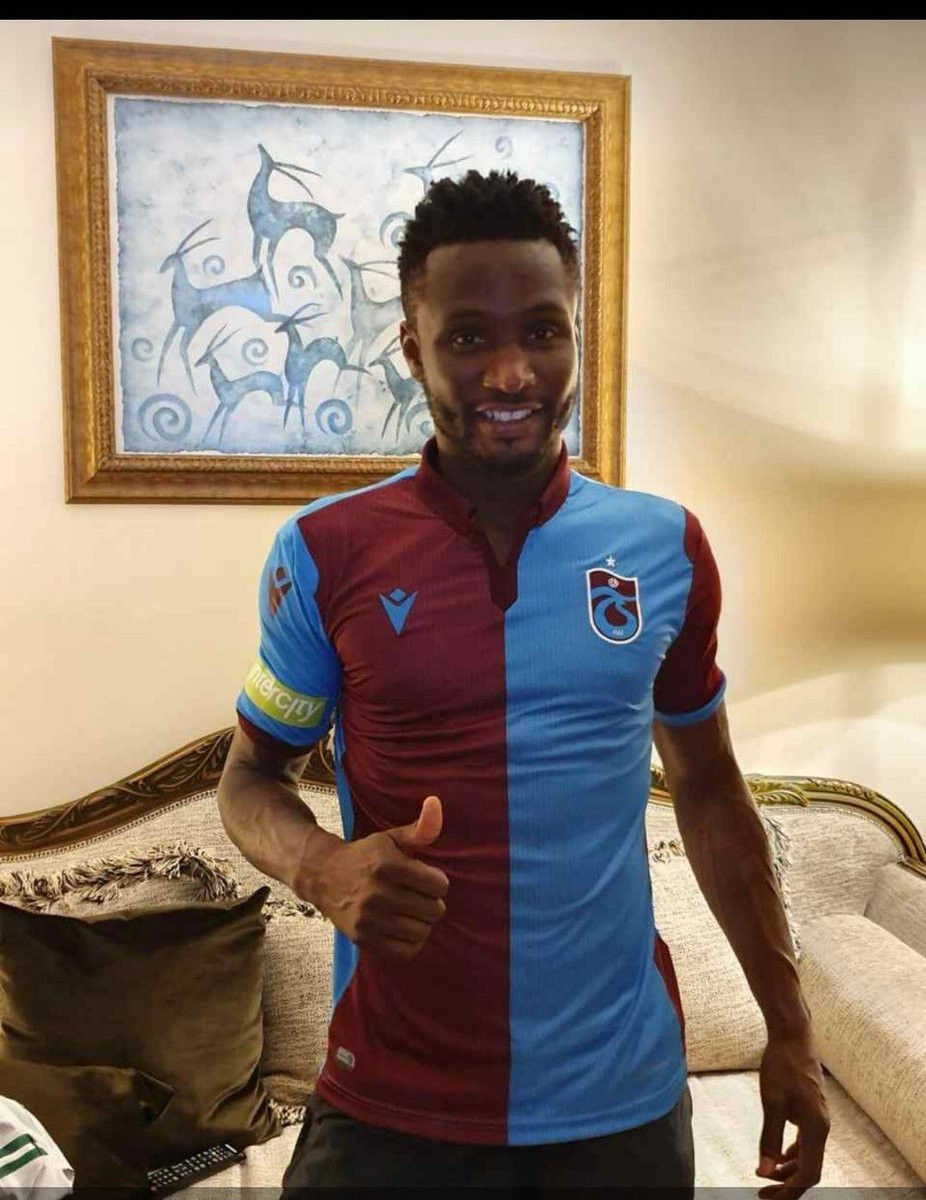 5d1a339f3677f - Super Eagles captain John Mikel Obi joins Turkish club Trabzonspor on a two-year deal