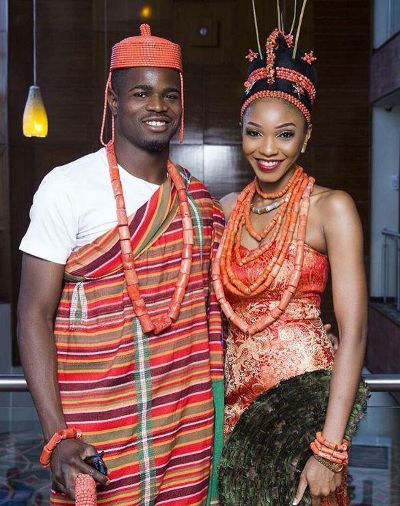 Nigerian footballer Elderson Echiejile welcomes new baby