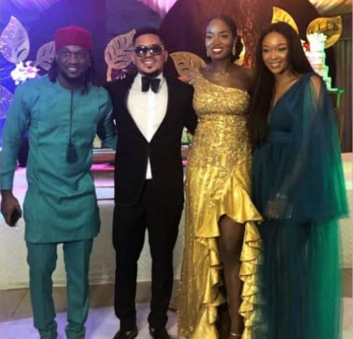 5d218f035c8fc - [Photos]: Smash Of Bracket Ties Knot With Long Time Girlfriend, Massy