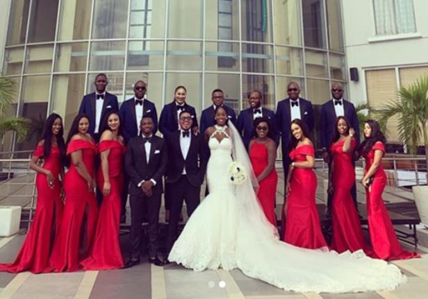 5d218f6fdc067 - [Photos]: Smash Of Bracket Ties Knot With Long Time Girlfriend, Massy