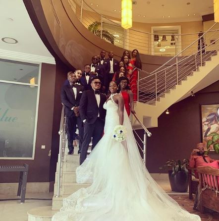 5d218f7f6189a - [Photos]: Smash Of Bracket Ties Knot With Long Time Girlfriend, Massy