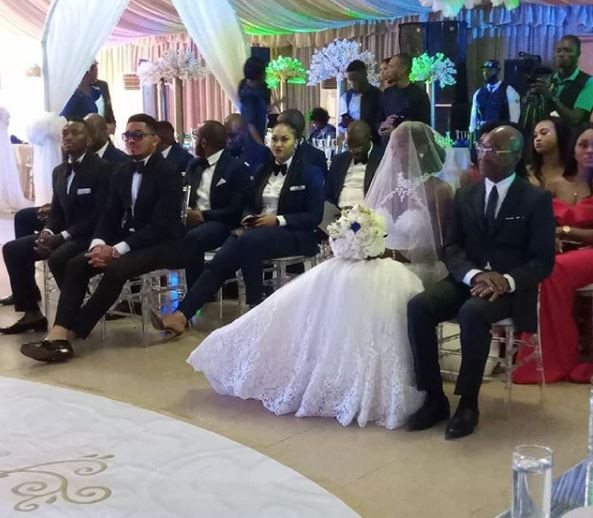 5d218f91114ac - [Photos]: Smash Of Bracket Ties Knot With Long Time Girlfriend, Massy