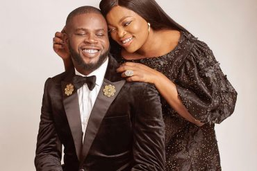 Funke Akindele, Hubby Celebrate Third Wedding Anniversary
