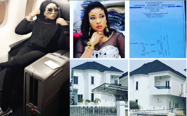 Actress Lizzy Anjorin Acquires New House, Shares Photos Online