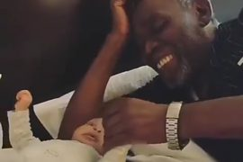 Olu Jacobs and his granddaughter