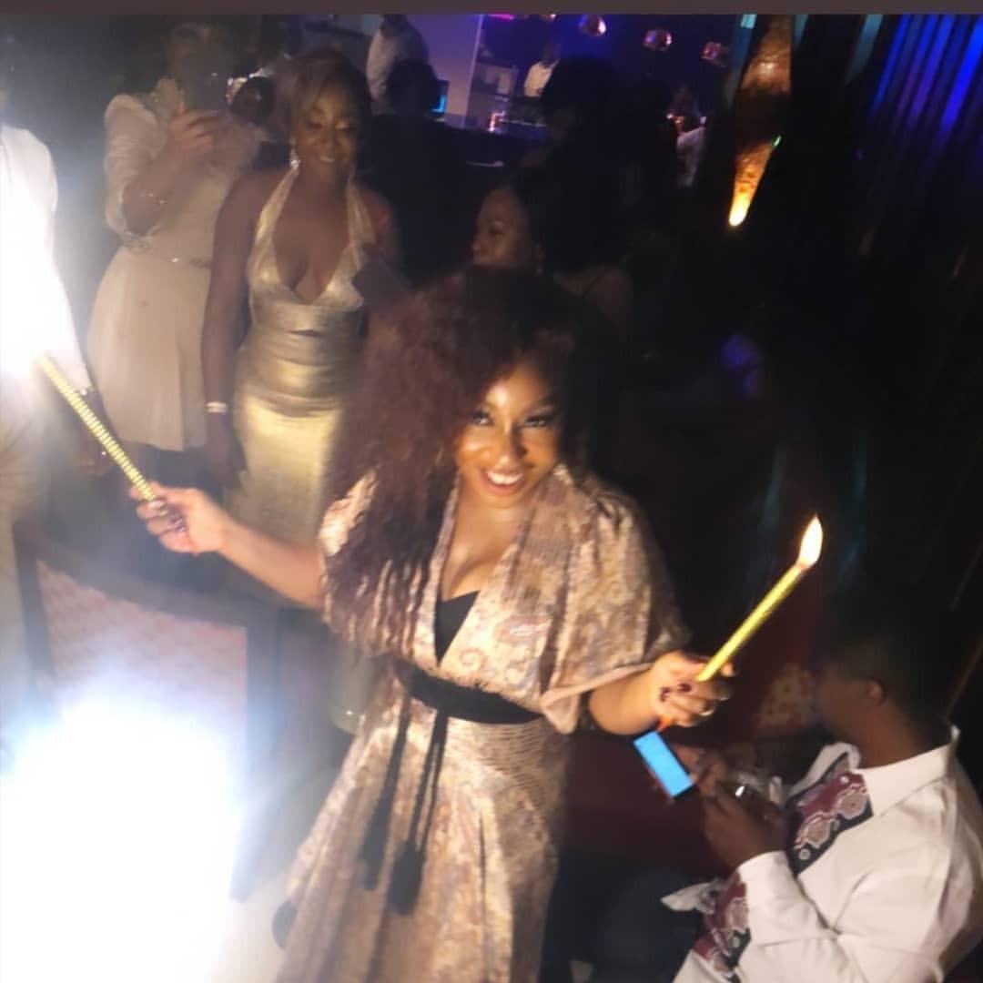[Photos]: Celebrities Storm Rita Dominic's Birthday Party