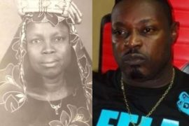 Rapper Eedris Abdulkareem and late mother, Ajoke Ajenifuja