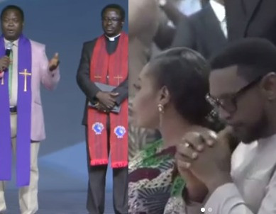[Video]:Christian Association of Nigeria Leaders Visit COZA, pledge support for Fatoyinbo