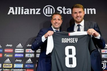 Juventus Unveils Aaron Ramsey And Squad Number