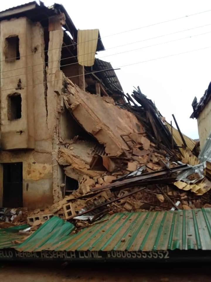 JOS: 7 People Confirmed Dead In Collapsed Building