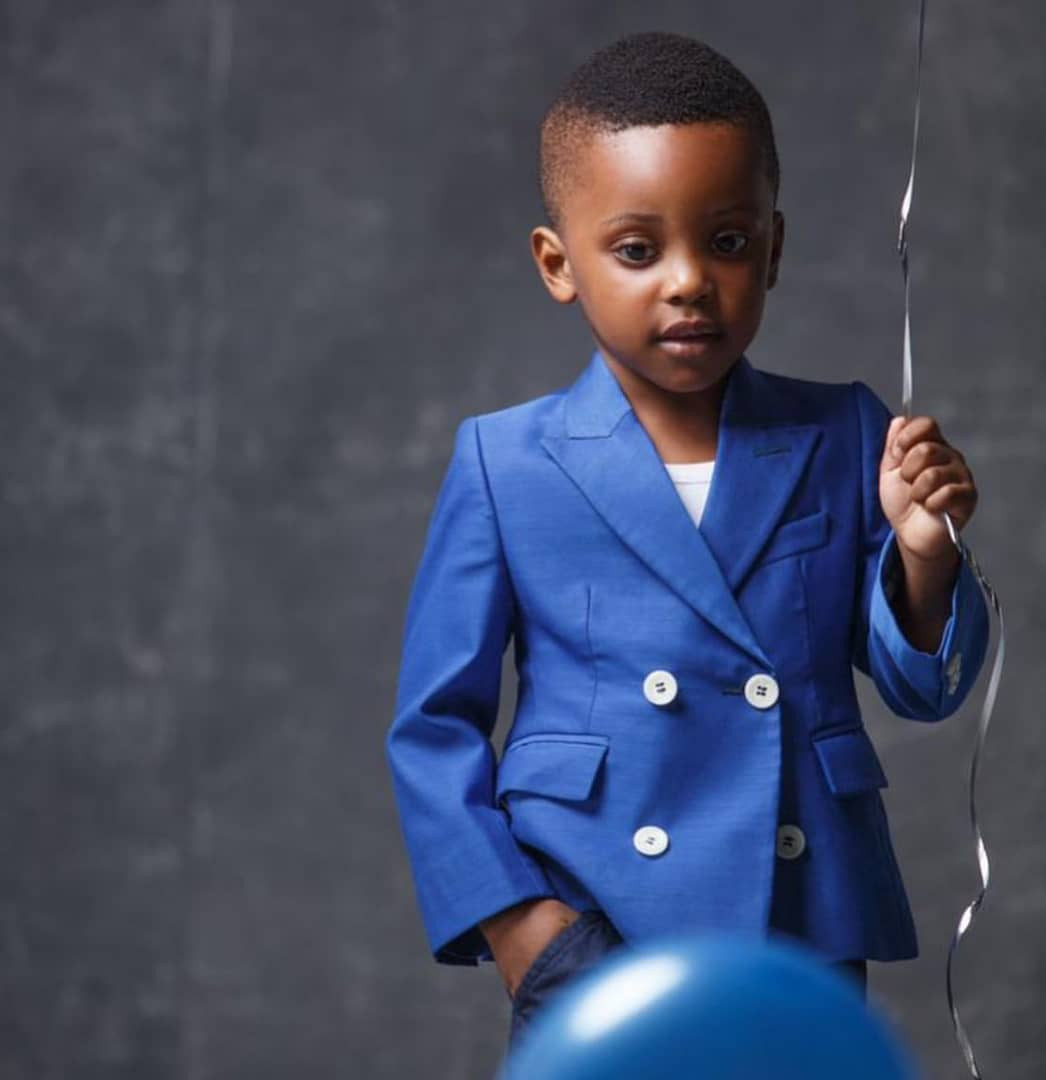 [Photos]: Ubi Franklin Releases Stylish Photos Of His Son Jayden As He Turns 3