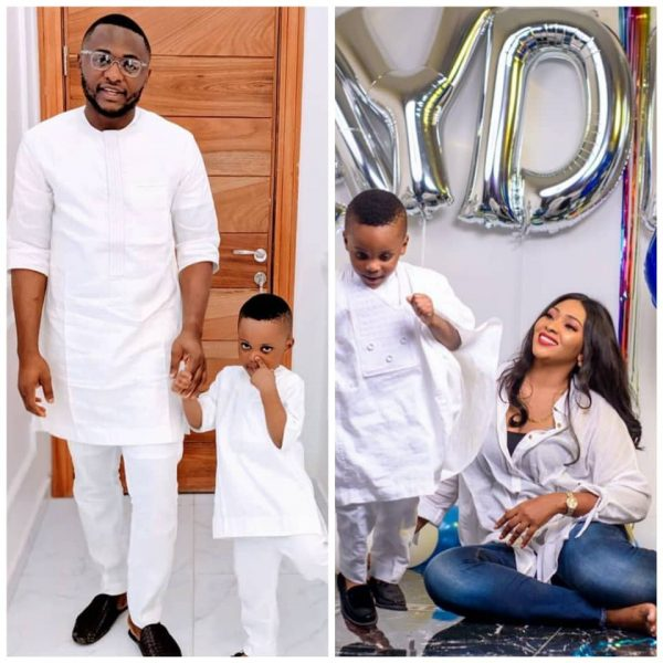 Ubi Franklin ,Jayden, and estranged wife
