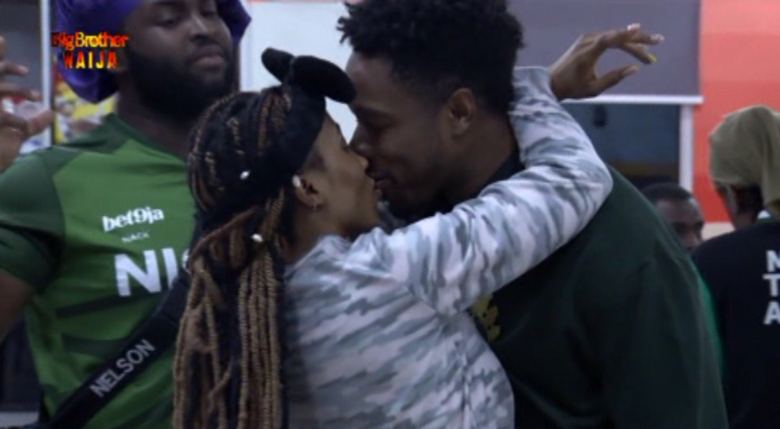[Video]: Watch BBNaija's Ike And Mercy Kiss For His 27th Birthday