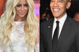American Singer Aubrey O'Day Wants Barack Obama As Her Sperm Donor
