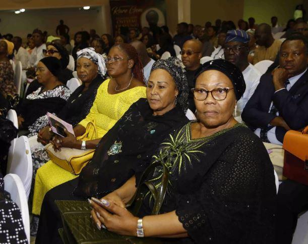 [Photos]: FFK, Tinubu, Gbenga Daniel, Others Attend Tribute Night For Funke Olakunrin
